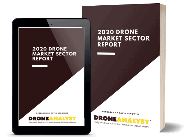 2020 Drone market sector report cover image
